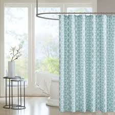 Bed Bath And Beyond Shower Curtain Liners Buy Aqua Shower Curtains From Bed Bath U0026 Beyond