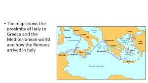 The Map Of Italy by Ap World History Roman Republic And Empire Ppt Video Online Download
