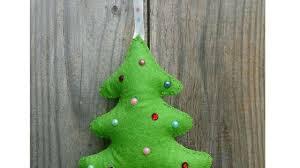 how to make a felt christmas tree diy crafts tutorial