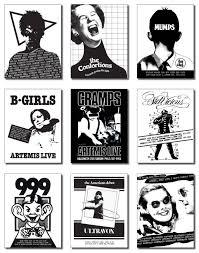 kansas city halloween 2015 original punk flier artwork designed in 1978 79 reproduced on