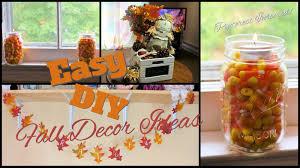 Fall Decor Diy - easy fall decor diy pinterest inspired youtube