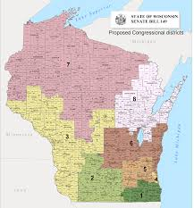 Wisconsin Election Map by The Ideal Of Redistricting The Reality Of Gerrymandering U2013 Steve