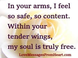 in your arms messages from the