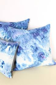 light blue accent pillows decor tips diy set of 3 light blue tie dye throw pillows for
