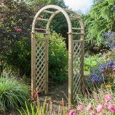 blooma softwood round top arch with assembly service departments blooma softwood round top arch with assembly service departments diy at b q
