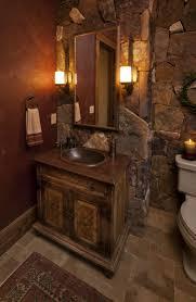 Rustic Corner Bathroom Vanity Spa Style Bathroom Vanity