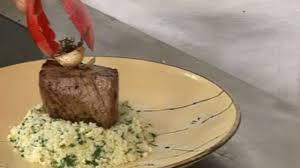 cuisiner chignon langue de boeuf recette pavé de boeuf semoule de chou fleur plats