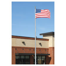 How Tall Is A Flag Pole Economy Extra Series Flagpole 40 Feet Tall