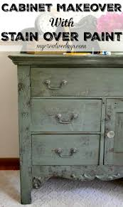 can you stain painted cabinets wooden chest of drawers makeover paint ideas paint furniture and