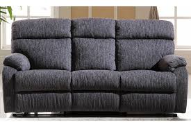 Fabric Reclining Sofa Fabric Recliner Sofa Set Grey