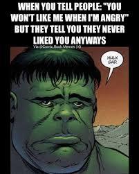 Meme Sad - hulk sad marvel comics know your meme