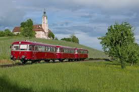 Rb Bad Saulgau Baureihe 795 796 798 Db Vt 95 Vt98 Uerdingerschienenbus