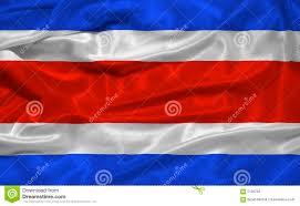 Costarican Flag Costa Rica Flag 3 Stock Illustration Image Of Banner 5146793