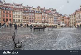 old town main square warsaw polandoctober stock photo 538572331