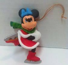 disney magic ornament minnie mouse skating ebay