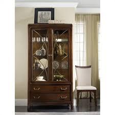 display china cabinets furniture hooker furniture palisade display china in walnut 5183 75906