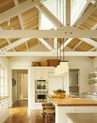 Modern Kitchen Ceiling Light by Best 10 Vaulted Ceiling Lighting Ideas On Pinterest Vaulted
