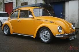 volkswagen yellow volkswagen gt beetle 1973 1600 lemon yellow