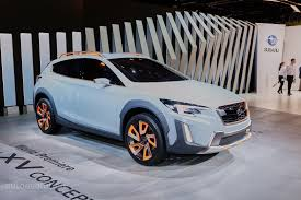 grey subaru crosstrek 2017 2017 subaru xv crosstrek previewed by this rugged concept in