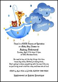 sprinkle shower boy sprinkle baby shower clouds raindrops party invitations 7716ibu sk