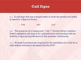 Vanity Call Sign Lookup Fcc Amateur Call Sign