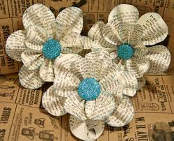 vintage paper flower ideas weddings by lilly