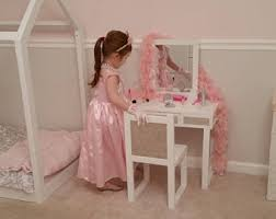 Childrens Play Vanity Kids Dress Up Etsy
