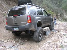 nissan xterra lifted nissan xterra 2in body lift installation