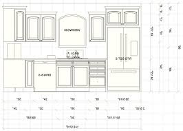 kitchen cabinet refrigerator size with standard kitchen cabinet