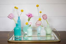 Colored Bud Vases Easy Painted Bud Vases How Sweet Eats