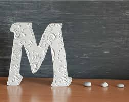 Home Letters Decoration M Alphabet Wooden Letters Stand Up Letters Gift Sign