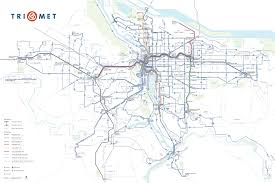 Portland Parking Map Maps And Schedules For Trimet Buses Max And Wes