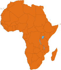 Map Of Uganda In Africa by Africa