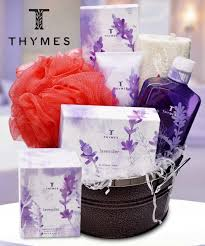 lavender gift basket thymes spa gift basket gifts basket beneva flowers