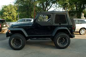 1999 Jeep Wrangler 4x4 Black Suv Sale
