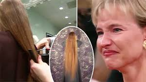 oprah winfrey new hairstyle how to lady hasn t cut hair in 22 years but after oprah s makeover she gets