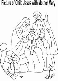 mary mother of jesus pictures coloring free download