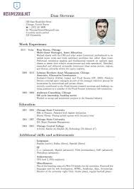 Proper Format For Resume New Resume Uxhandy Com