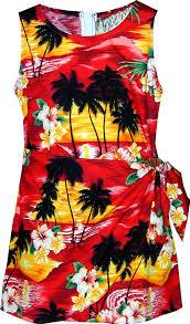amazon com pacific legend girls brilliant hawaiian island sunset