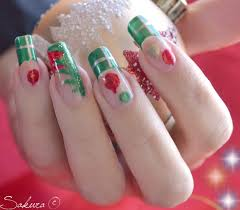 christmas nails art