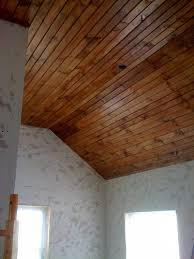 How To Sheetrock A Ceiling by Wood Ceiling 101 How To Install Tongue U0026 Groove Paneling Diydiva
