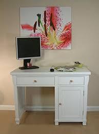 Small Desk Uk Hton Small Pedestal Computer Desk White Solid Ash Co Uk