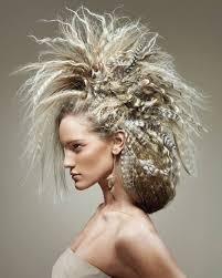 history of avant garde hairstyles halloween haare vitalmag3 heads up pinterest avant garde