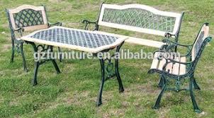 Beer Garden Tables by Leisure Ways Outdoor Furniture Beer Garden Table And Bench Buy