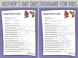 what to buy for s day s day questionnaire for kids i my because