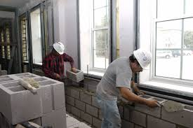 home design cinder block wall interior building designers