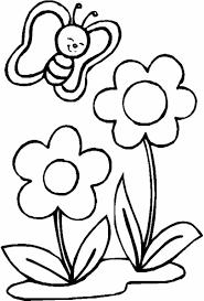 Coloriage de fleurs et arbres à télécharger gratuitement