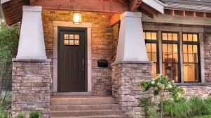 Steel Or Fiberglass Exterior Door Exterior Metal Doors Prehung Fiberglass Residential Door