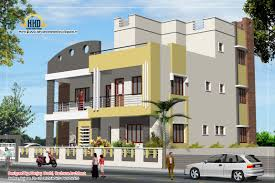 front elevation of 4bhk duplex ideas for the house