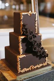 chocolate wedding cakes 20 decadent and delicious chocolate wedding cakes chic vintage
